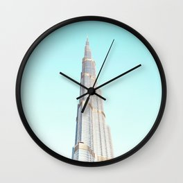 Burj Khalifa Wall Clock