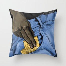 She Throw Pillow