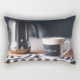 kitchen morning 5 Rectangular Pillow