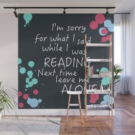 Sorry for what I said Wall Mural