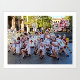Chinese New Year, Sydney Art Print