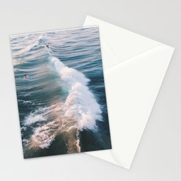 Surf at Sunset Stationery Cards