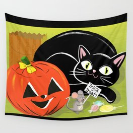 Trick Or Treat Trio Wall Tapestry