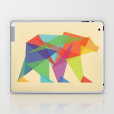 Fractal Geometric bear Laptop & iPad Skin