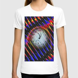 Abstract - Perfection- Time is running T-shirt