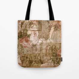 Vintage & Shabby Chic - Victorian ladies pattern Tote Bag