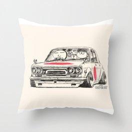 Crazy Car Art 0173 Throw Pillow