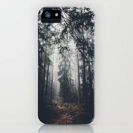 Dark paths iPhone Case