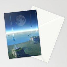 space elevator - babylon transfer station  Stationery Cards