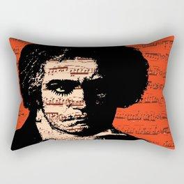 A Clockwork Beethoven  Rectangular Pillow