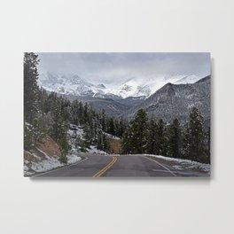 Rocky Mountains I Metal Print