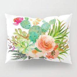 Floral Desert Pillow Sham
