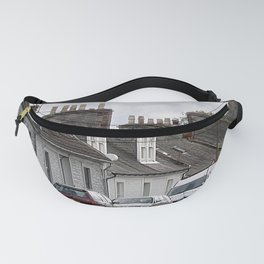 Scotland Street PhotoArt Fanny Pack