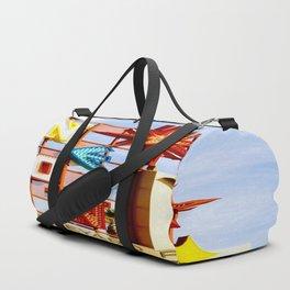 Neon Boneyard Duffle Bag