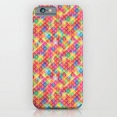 Color Blocks Pattern iPhone 6s Slim Case