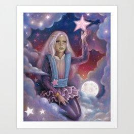Star Projector Art Print