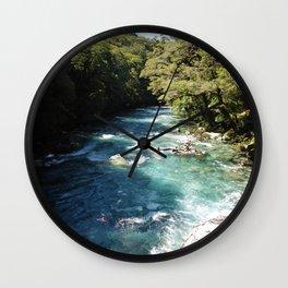 Lake Marian, New Zealand Wall Clock