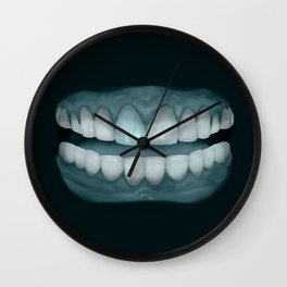 Blue Tooth 2 Wall Clock