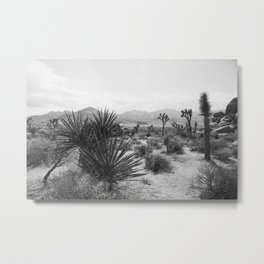 The Place to be in Joshua Tree Metal Print