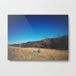 Young, Wild, and Free Metal Print