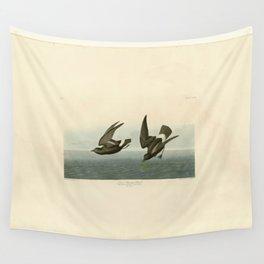 Vintage Bird Print - Birds of America - 340 Least Stormy-Petrel (1838) Wall Tapestry