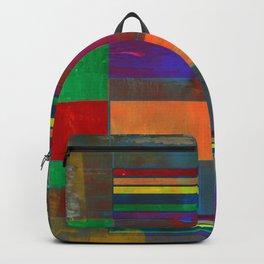 Mid-Century Modern Art - Rainbow Pride 2.0 Backpack