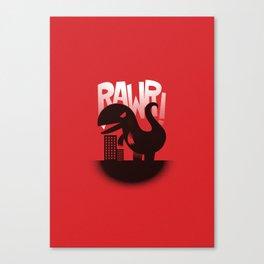 Rawr! Canvas Print