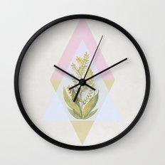 Botanical vibes 09 Wall Clock