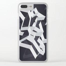 3D X 0.4 Clear iPhone Case