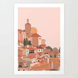 Spain Travel Poster Art Print