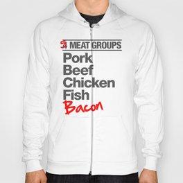 5 Major Meat Groups Hoody