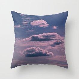 Clouds 09 Throw Pillow