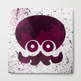 Splatoon - Octarion Metal Print