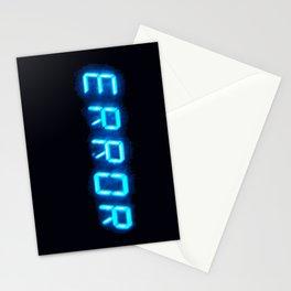 ERRORTRUTH Stationery Cards