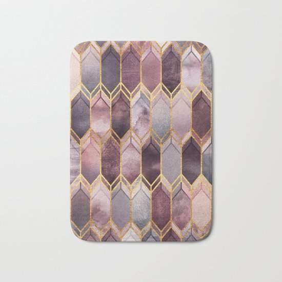 Dreamy Stained Glass 1 Bath Mat