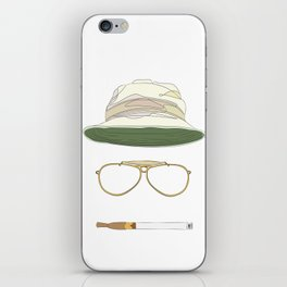 Movie Icons: Fear and Loathing in Las Vegas iPhone Skin