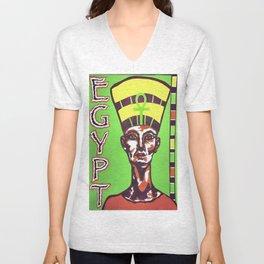 Egyptian Queen Unisex V-Neck