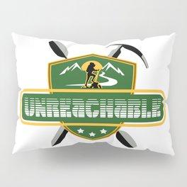 """Emblem for travelers """"Unreachable"""" Pillow Sham"""