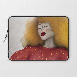 Martha with Cat Laptop Sleeve