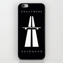 Autobahn kraftwerk iPhone Skin