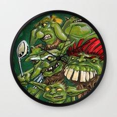 Goblin Pie Crew (v.1) Wall Clock