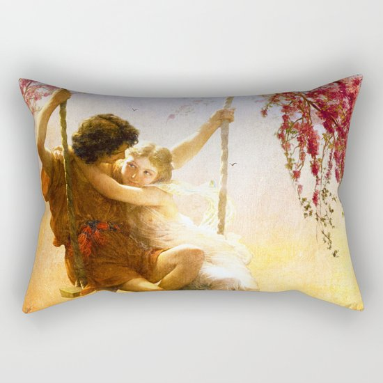 The Spring of Our Love Rectangular Pillow