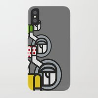 tour de france iPhone & iPod Cases featuring Peloton Tour De France by sonsofwolves