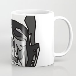 Halloween Monster - Blue - Geometric - Frankenstein monster Coffee Mug