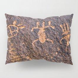 Desert Rock Art - Petroglyphs I Pillow Sham