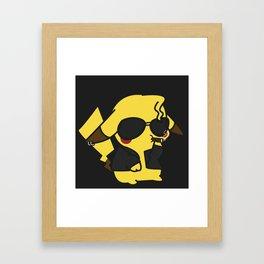 Greased Thunderbolt Framed Art Print