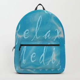 Meditation Relaxation Backpack