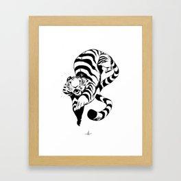 Pounce Framed Art Print