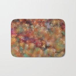 Mosaic Landscape, Falling Leaves Bath Mat