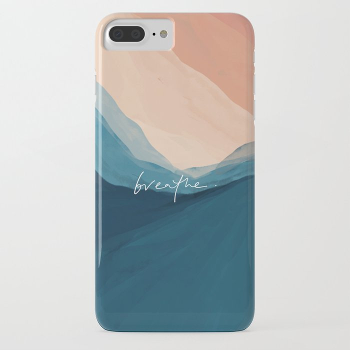 breathe. iphone case